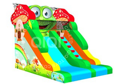 Frog Jumping Slide for Kids