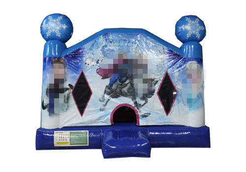 Frozen Inflatable Bounce House