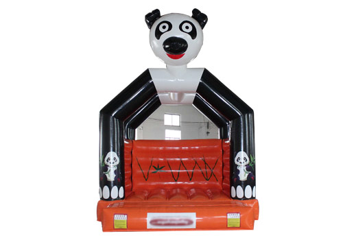 Funny Panda Inflatable Castle