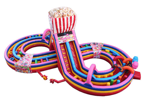 Gaint Candy Inflatable Obstacle Course