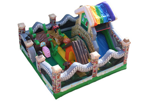 Garden House Inflatable Playland