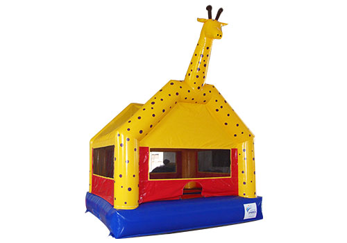 Giraffe Inflatable Bouncer