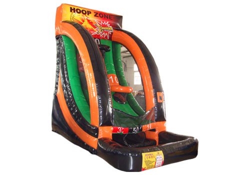 Hoop Zone Inflatable Basketball Game
