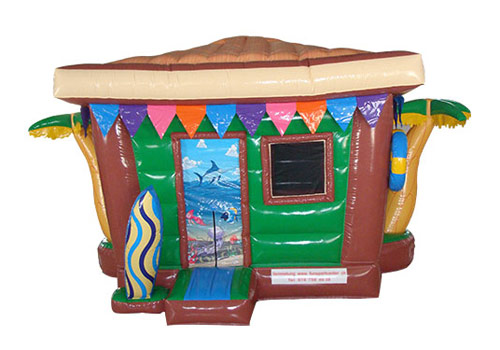 Beach House Inflatable Castle