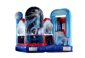 Inflatable Frozen  Bouncy Castle 5 In 1 Combo