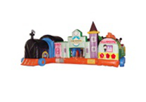 Inflatable Fun express Train station