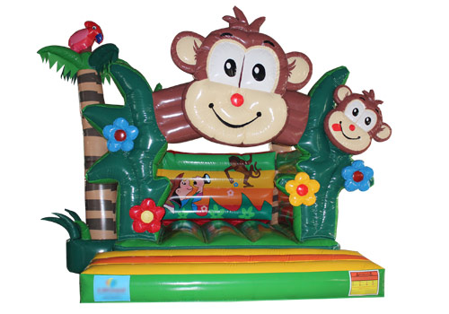 Inflatable Monkey N Forest Jumper
