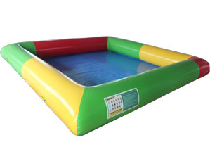 Inflatable Pool With Water Ball