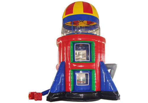 Inflatable Rocket Jump