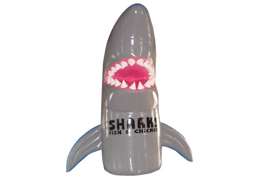 Inflatable Shark Advertising