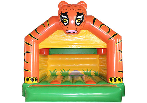 Inflatable Tiger Castle