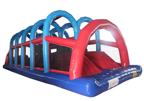 Inflatable Wiped Out Obstacle Game