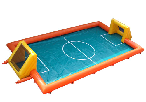 Inflatable soccer pitch