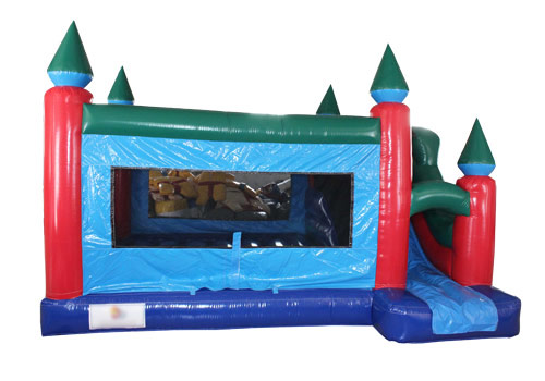 Inflatable Castle Slide Module Combo