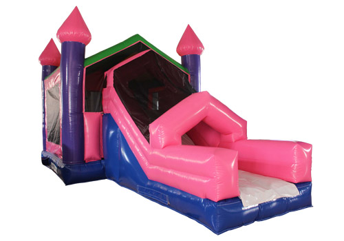 Inflatable princess Castle Slide Combo
