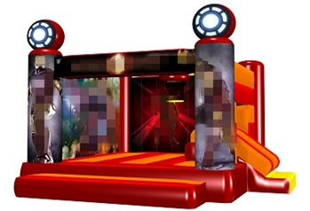 Iron Man Bouncy House