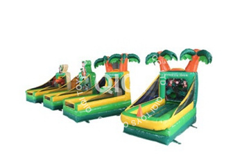 Jungle inflatable 4 sports in 1