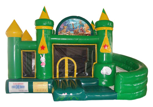 Jungle Castle For Kids