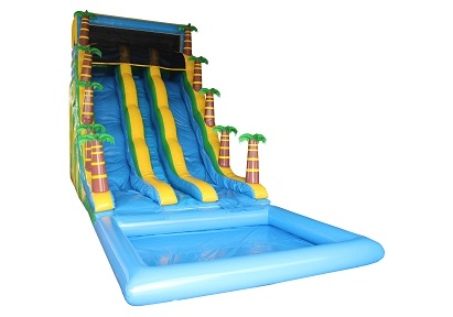 Jungle Fun Water Slide