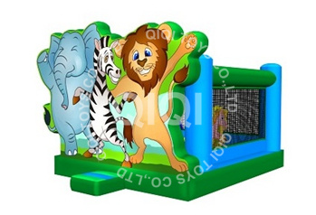 Jungle Inflatable Small Castle