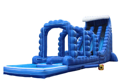 Large Wild Rapids Water Slide