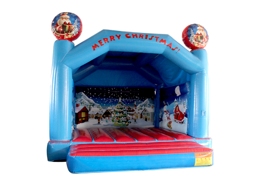 Merry Christmas Jumping Castle