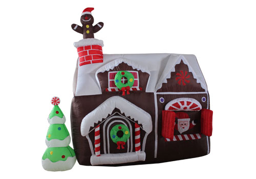 Mini Inflatable Christmas House