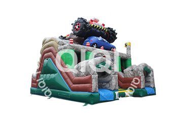 Monster Truck Giant Inflatable Obstacle