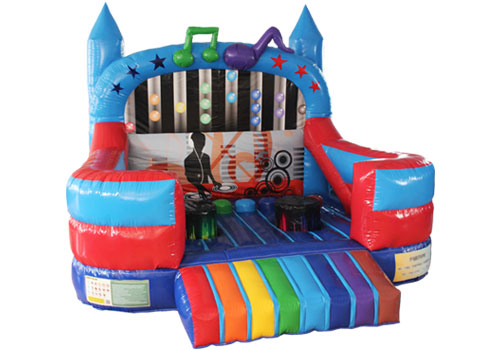 Music Tempo Inflatable Disco Bouncer