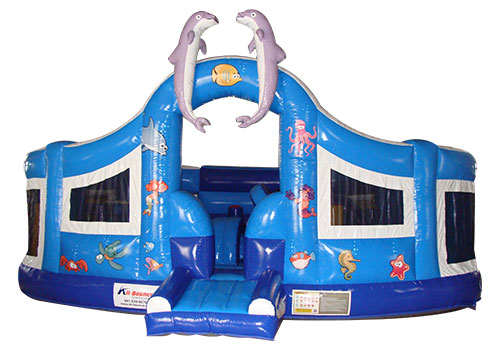 Ocean Park Inflatable Playground