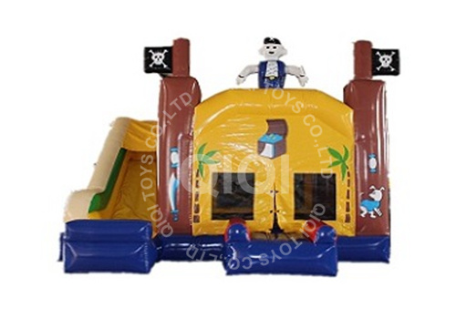 Pirate inflatable combo for kids