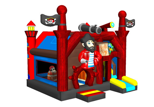 Pirate Bouncy House Combo