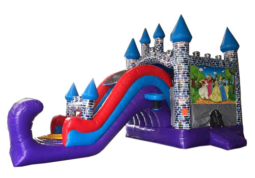 Princess Castle Slide 6 In 1 Combo