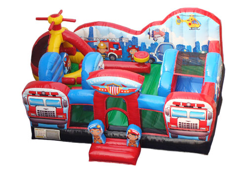 Rescue Squad Inflatable Playground