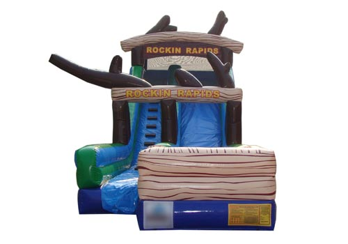 Rockin Rapids Inflatable Slide