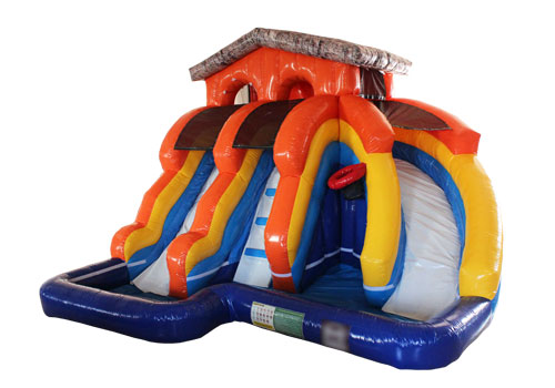 Splash Island Inflatable Water slide Park
