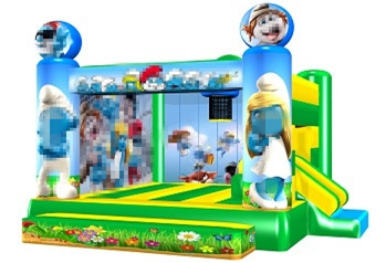 The Smurfs Inflatable Kids Jumpers