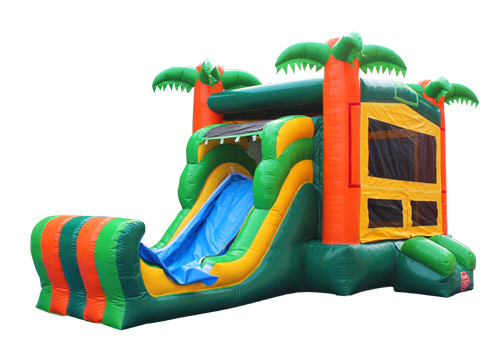 Tropical Inflatable 5 In 1 Combo