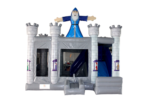 Wizard Inflatable Castle Bouncer