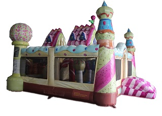 inflatable candy land the kingdom of sweets board game