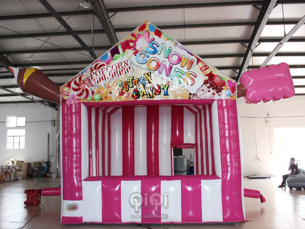 Inflatable advertising market stand promotional booth