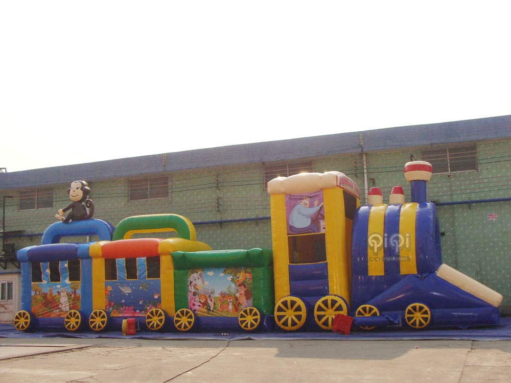 Jungle Train Obstacle Course