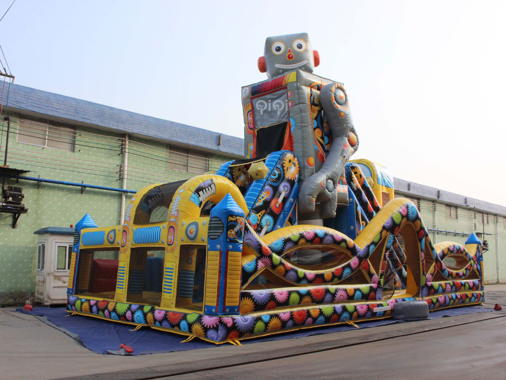 Inflatable Robot Playground