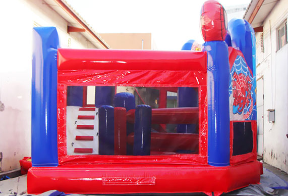 Spiderman Inflatable 5 in 1 moonwalk combo