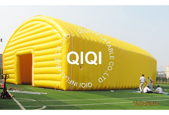 Yellow Inflatable Event Tent