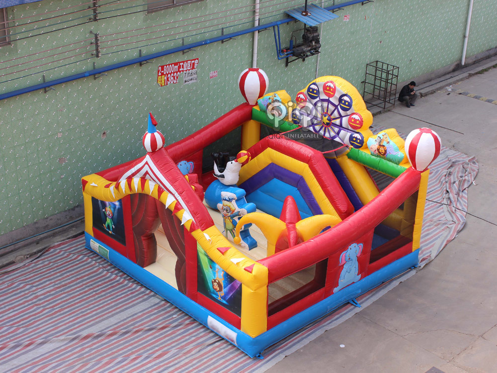 Circus Commercial Toddler Playland