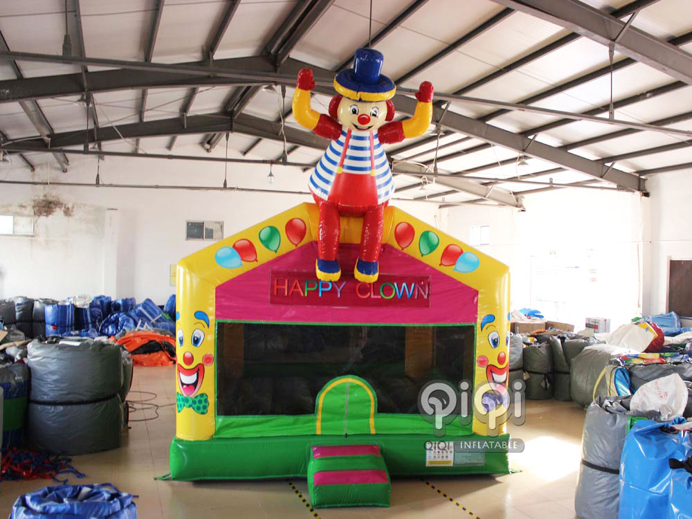 Clown Indoor Bounce House For Kids-QBO-3540-1