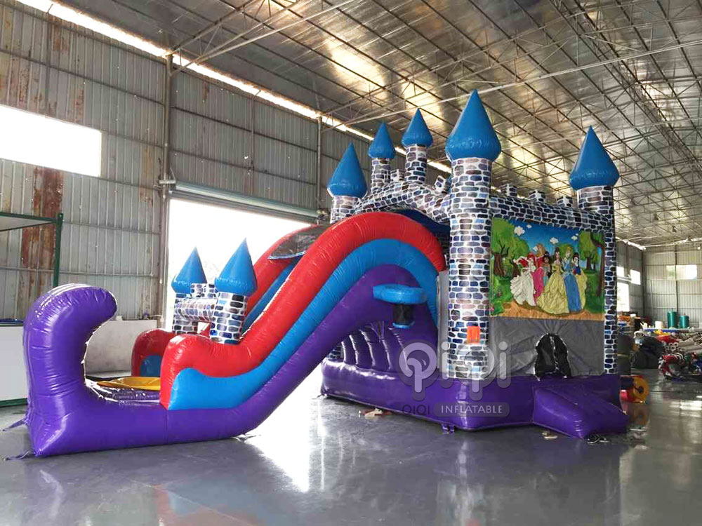 Princess-Castle-Slide-6-In-1-inflatable-Combo-QCO-3512