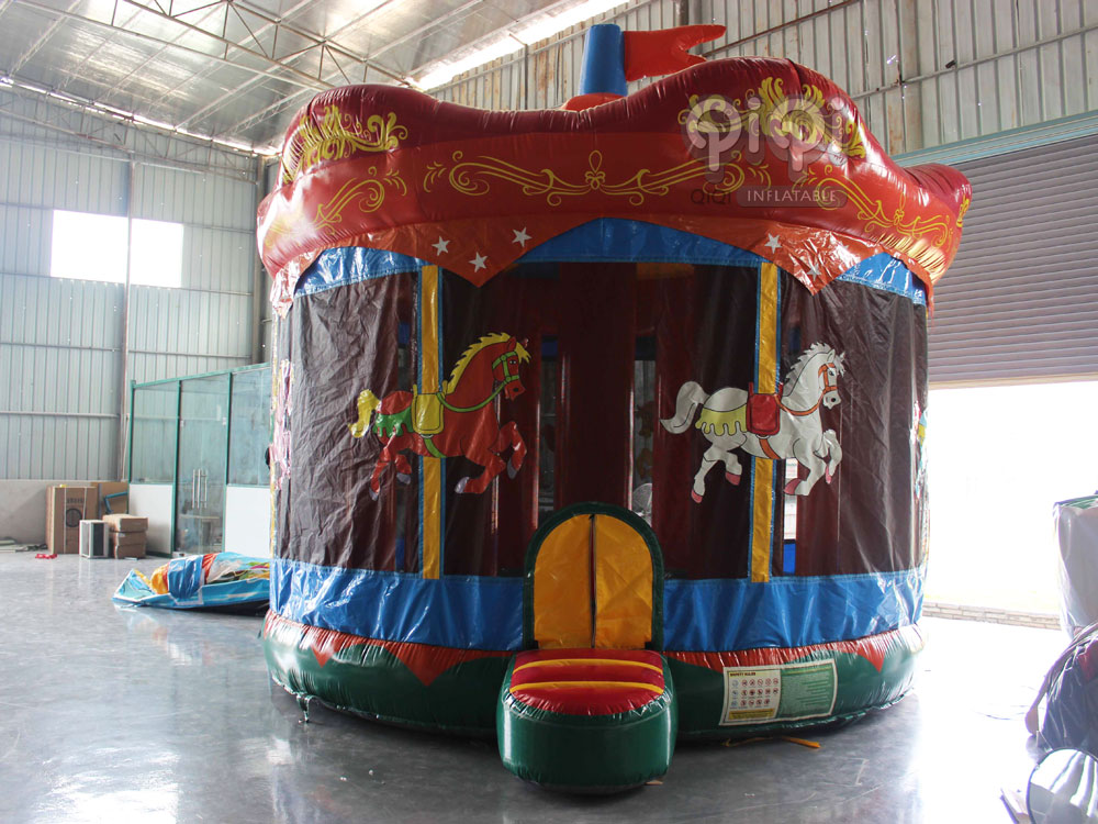 carousel castle bouncer for kids