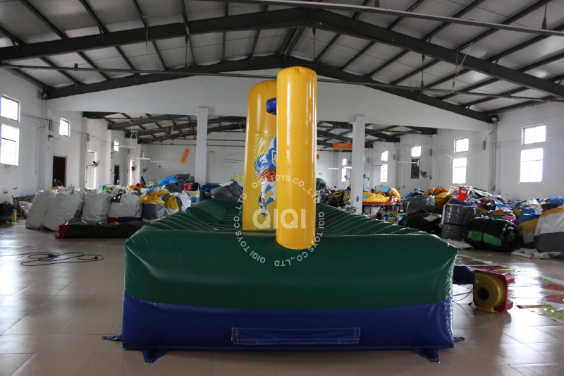 Inflatable Slam Dunk Bungee Run